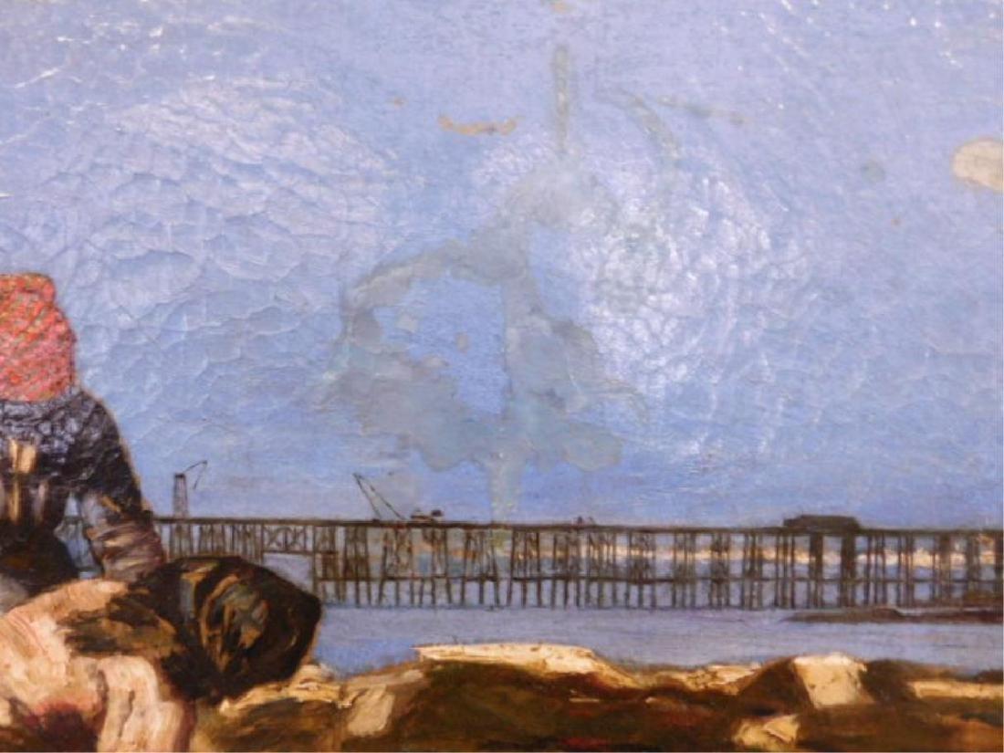 Joan Berg Signed Oil Painting - 7