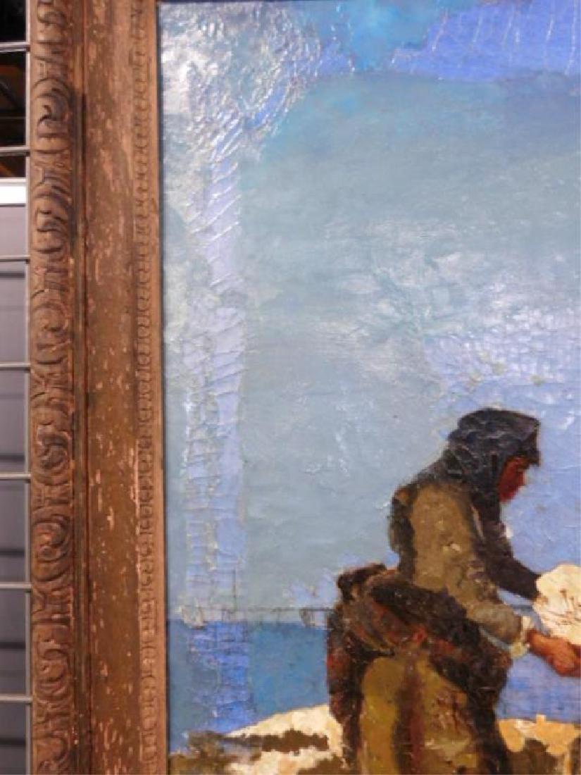 Joan Berg Signed Oil Painting - 9