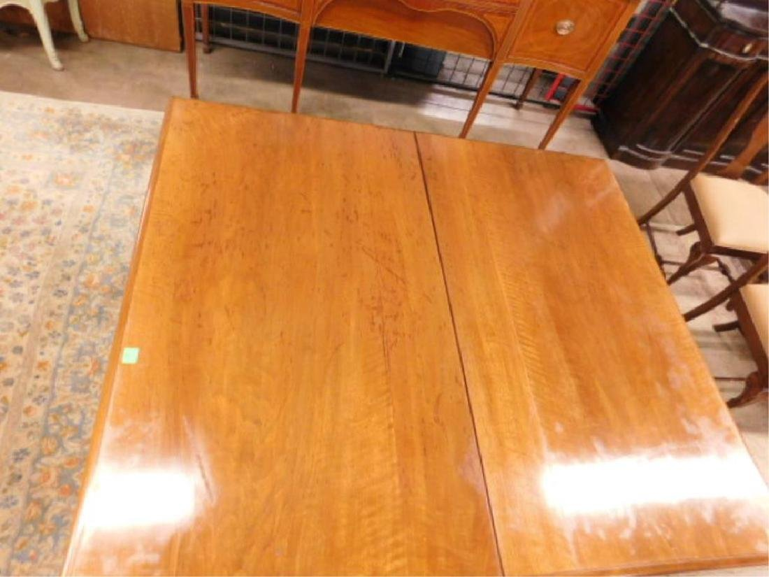 Victorian Walnut Dining Room Table - 4