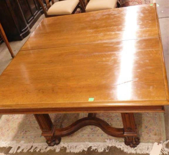 Victorian Walnut Dining Room Table - 7