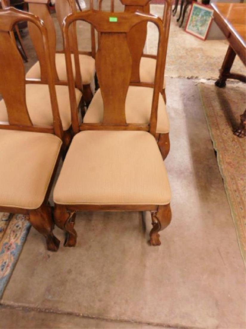 Six Queen Anne Style Mahogany Chairs - 2
