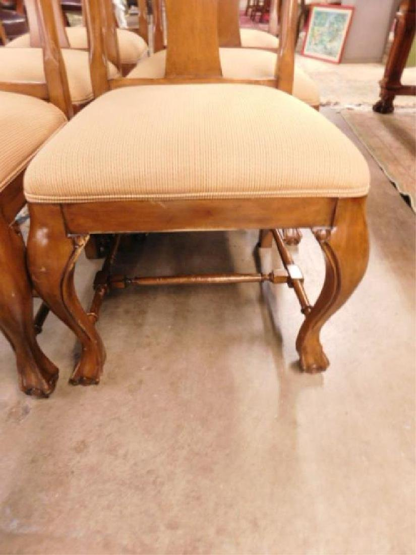 Six Queen Anne Style Mahogany Chairs - 3