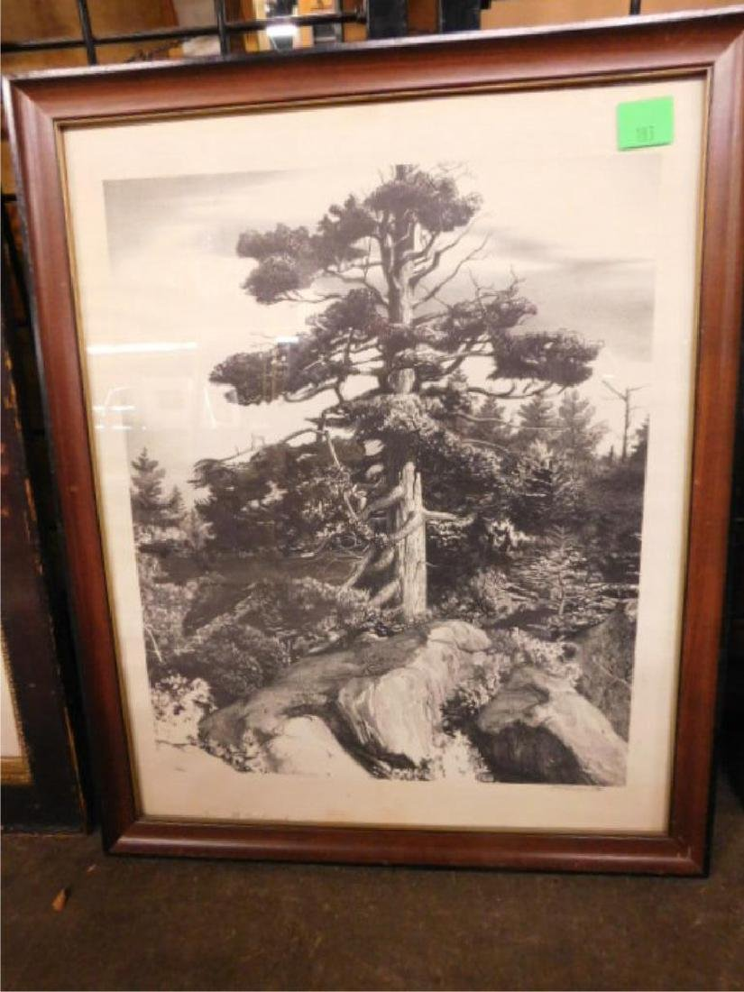 Stow Wengenroth Signed Lithograph