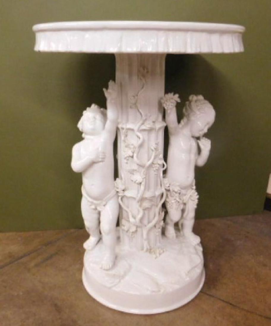 Blanc de Chine Porcelain Garden Table