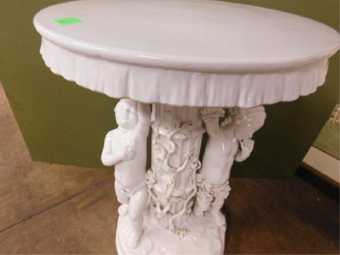 Blanc de Chine Porcelain Garden Table - 2