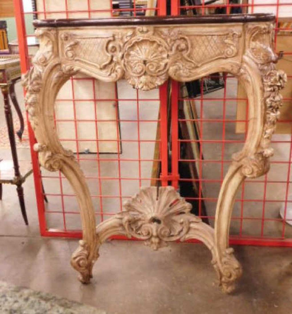 Louis XIV Style Wall Console