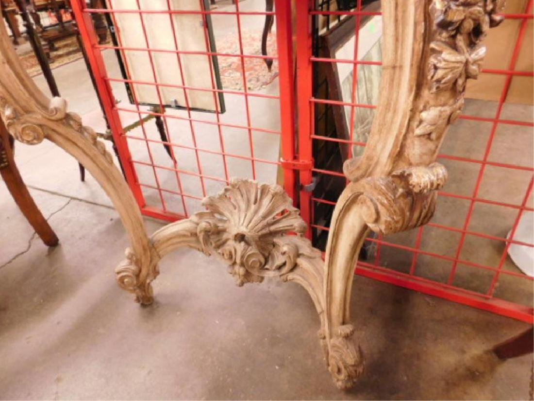 Louis XIV Style Wall Console - 3