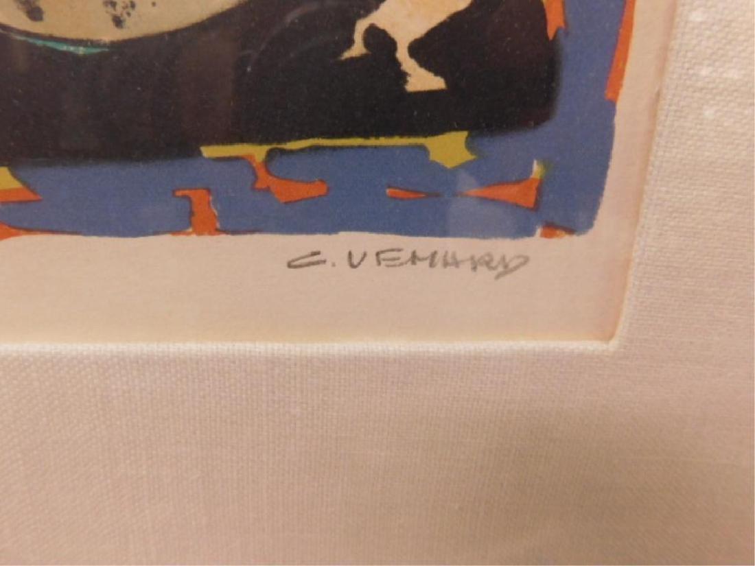 Claude Venard Signed Lithograph - 3