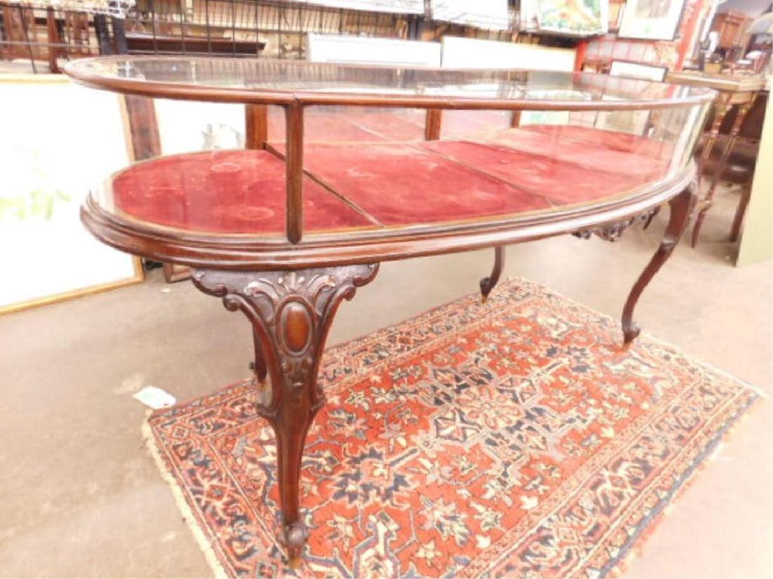 Mahogany Jewelry Display Table