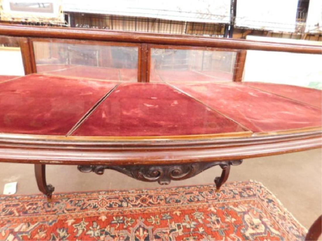 Mahogany Jewelry Display Table - 2