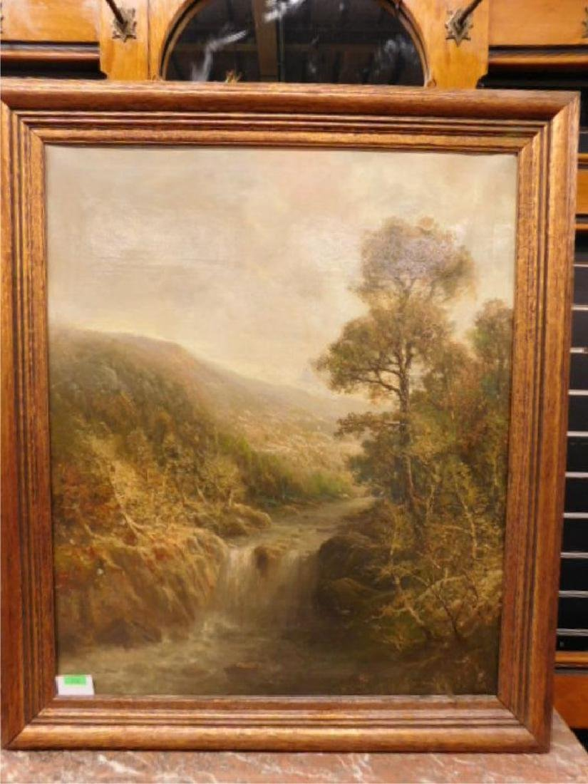 Unsigned Continental School Oil Painting