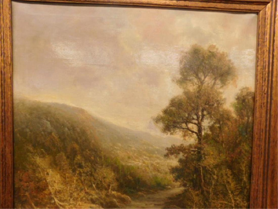 Unsigned Continental School Oil Painting - 3