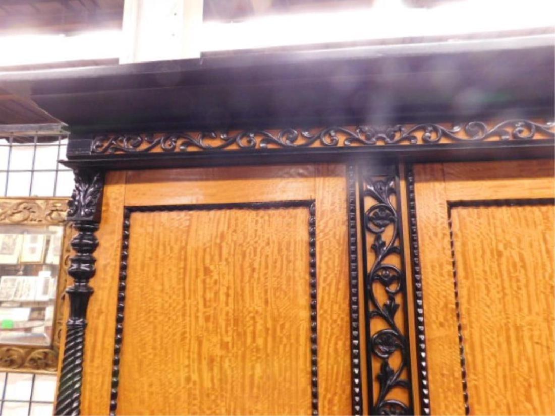 Biedermeier Style Curly Maple Custom Cabinet - 2