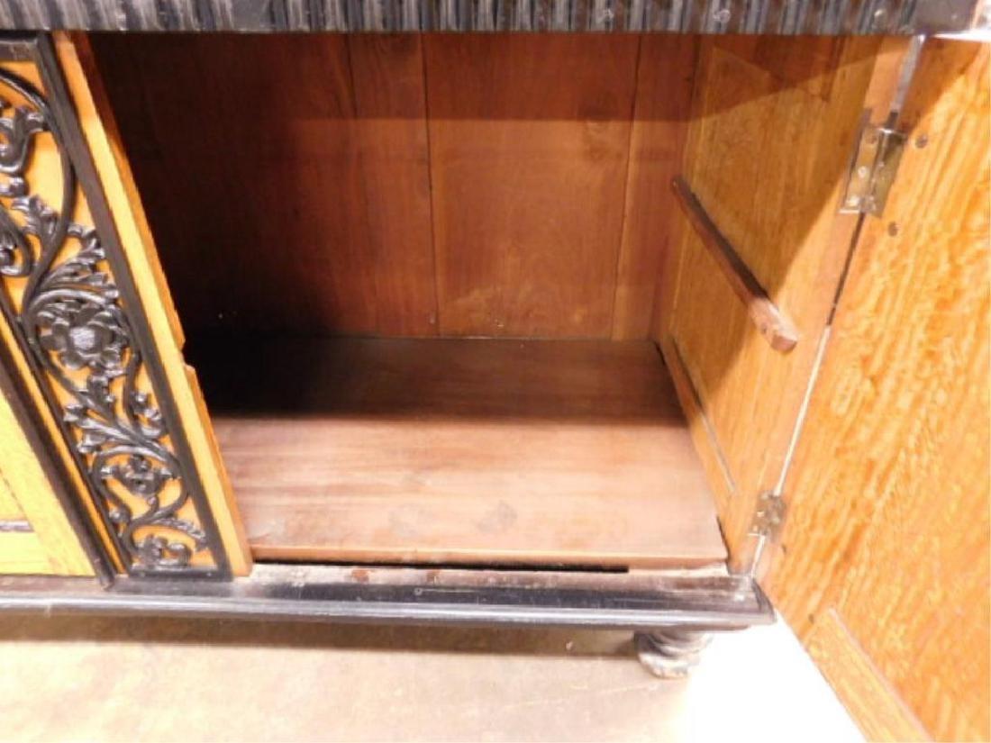 Biedermeier Style Curly Maple Custom Cabinet - 8