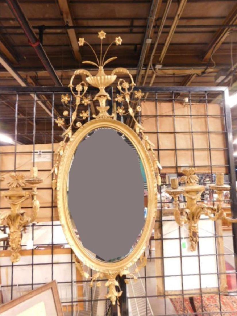 Friedman Brothers Williamsburg Gilt Mirror