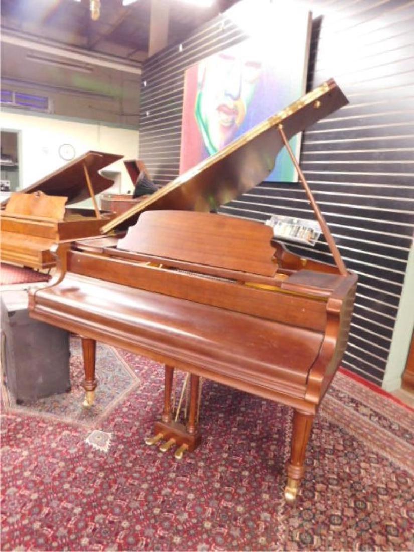 Pearl River Mahogany Baby Grand Piano