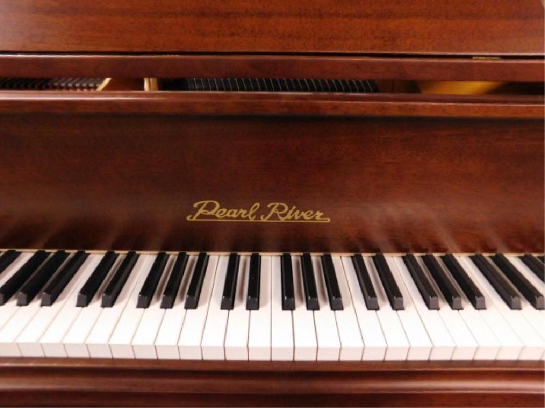 Pearl River Mahogany Baby Grand Piano - 2