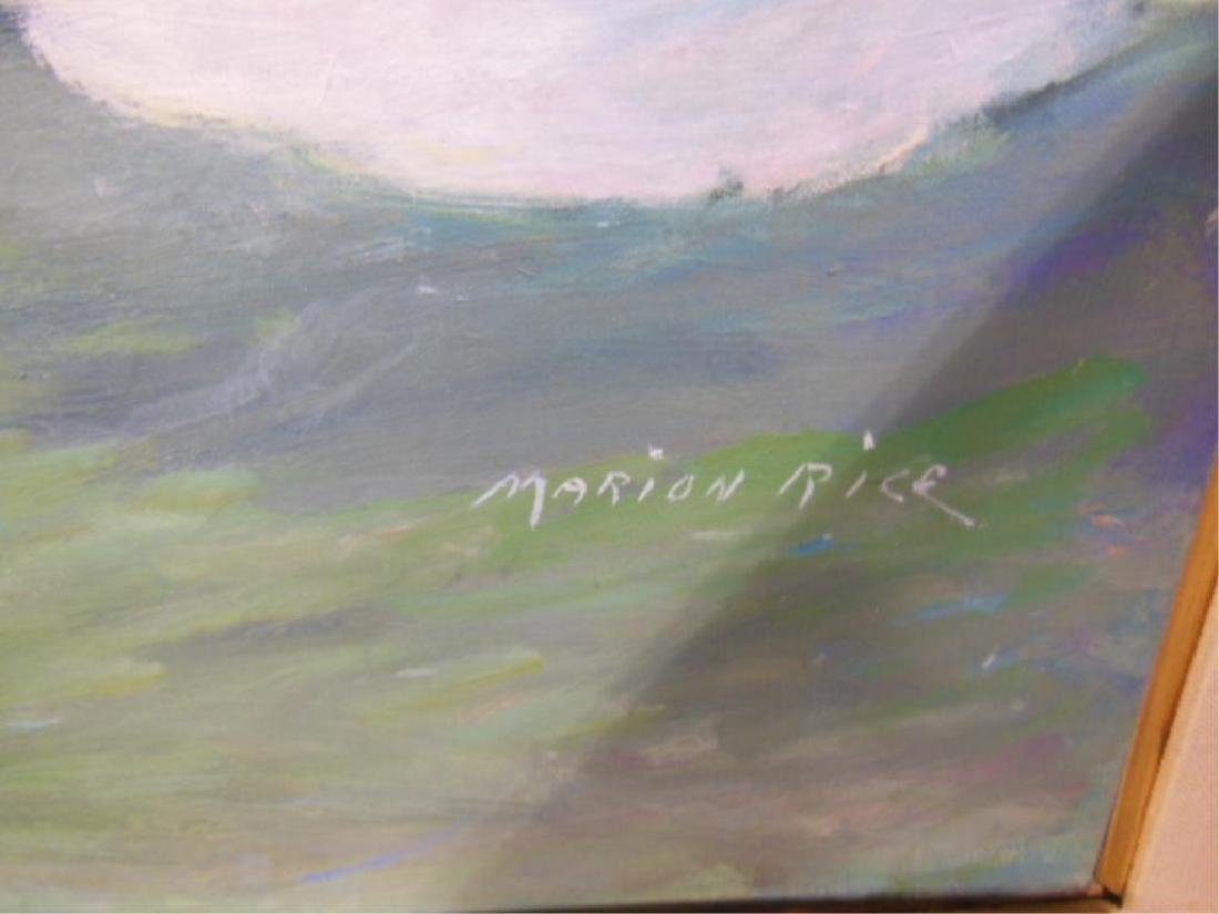 Marion Rice Signed Oil Painting - 2