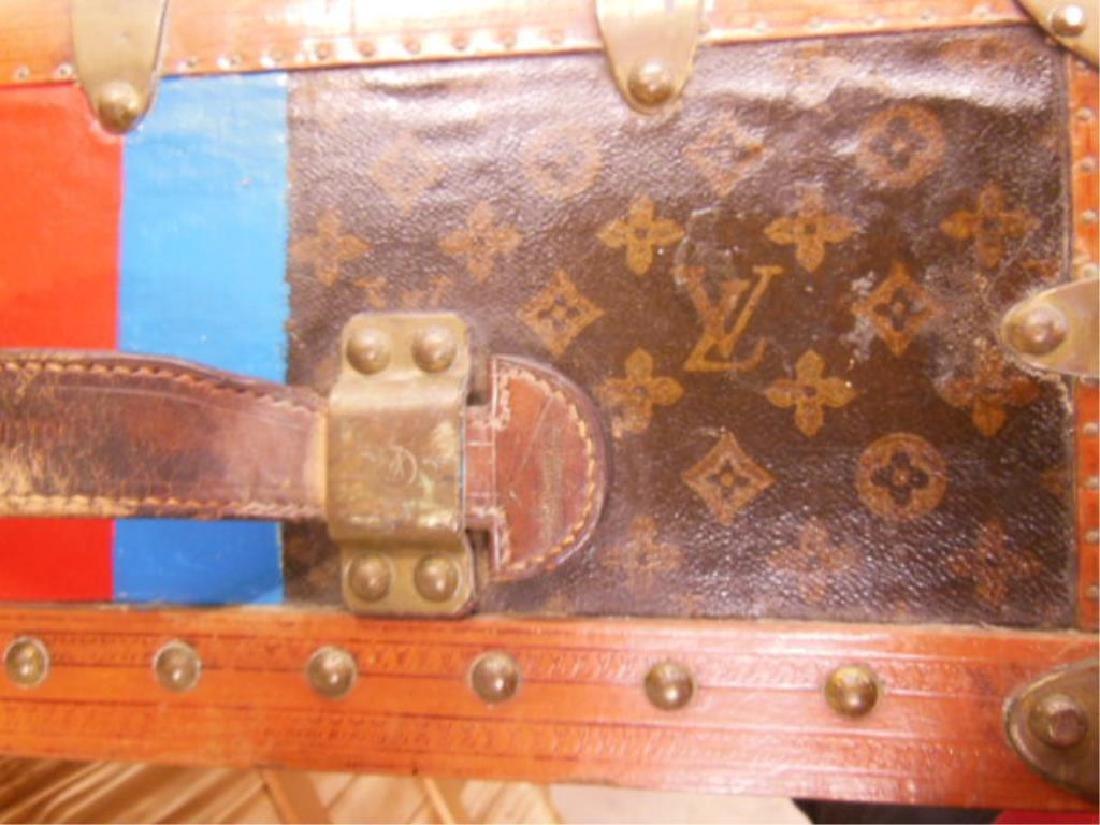 Vintage Louis Vuitton Travel Trunk - 3