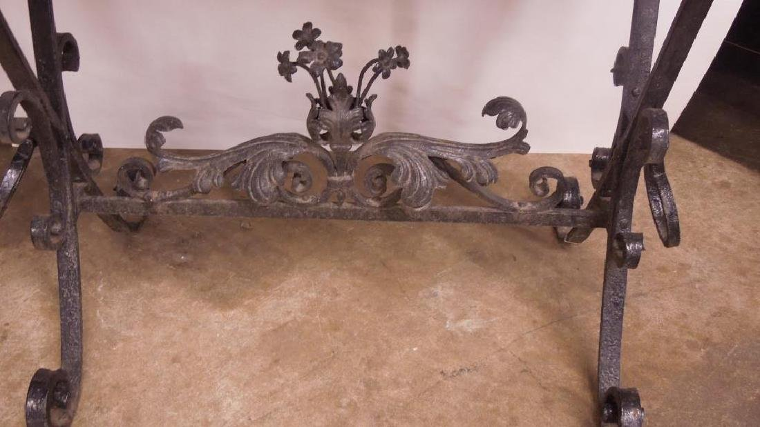 Wrought Iron Plant Table - 2