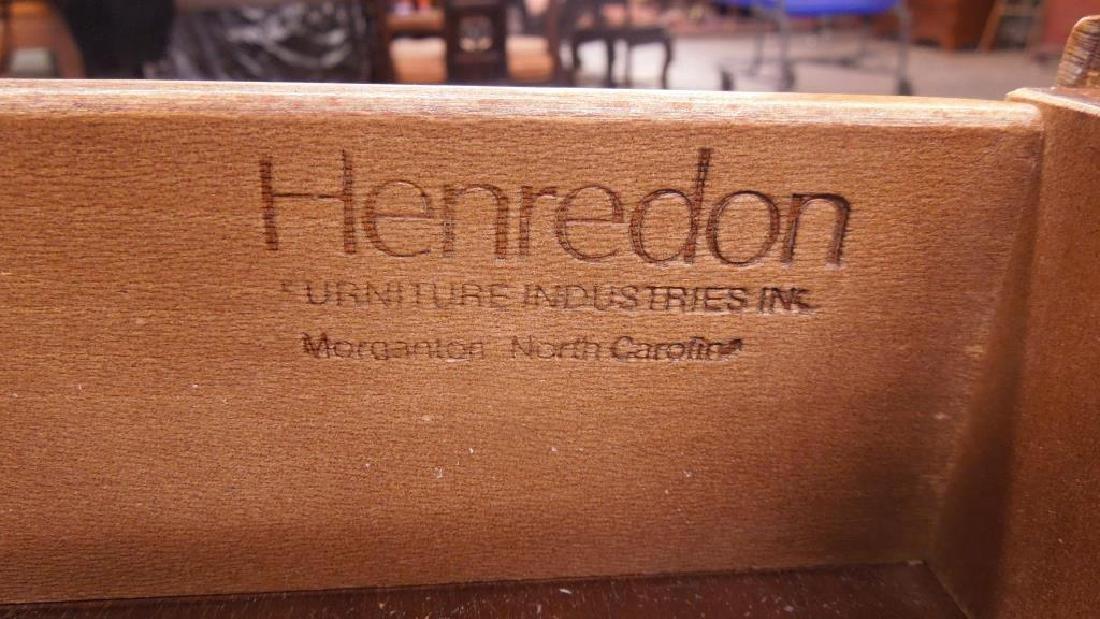 Henredon Mahogany Executive Desk - 3