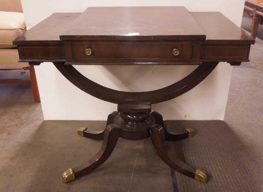 Regency Style Mahogany End Table