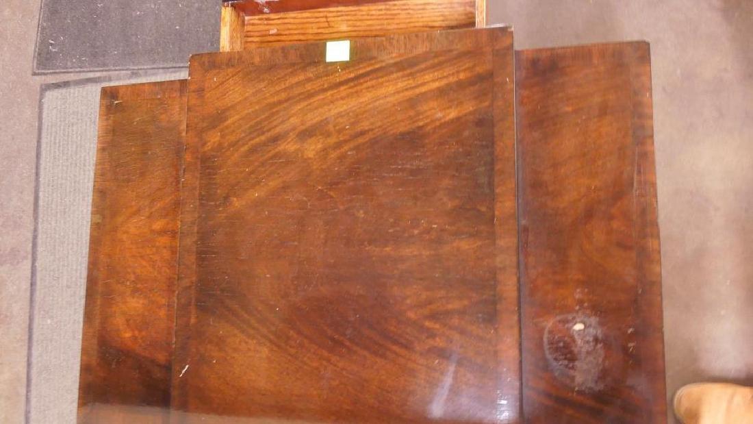 Regency Style Mahogany End Table - 3