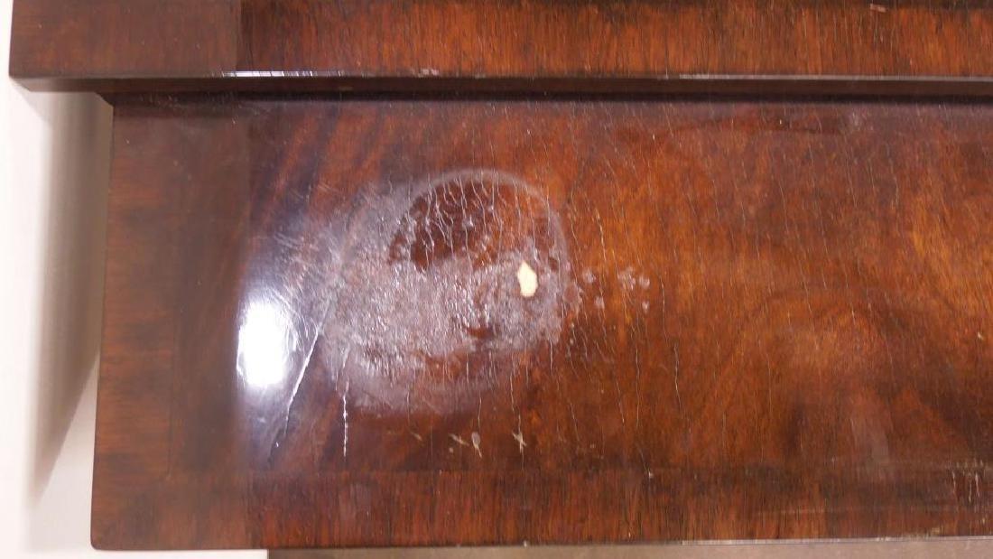 Regency Style Mahogany End Table - 4
