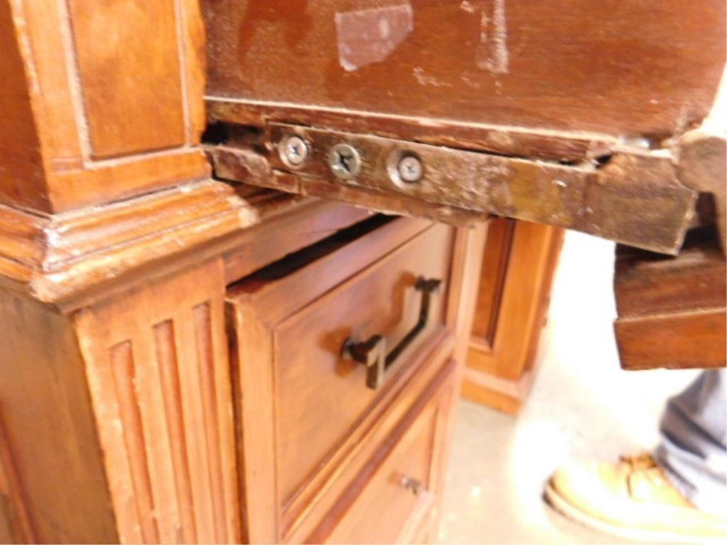 Victorian Walnut Clerk's Desk - 10