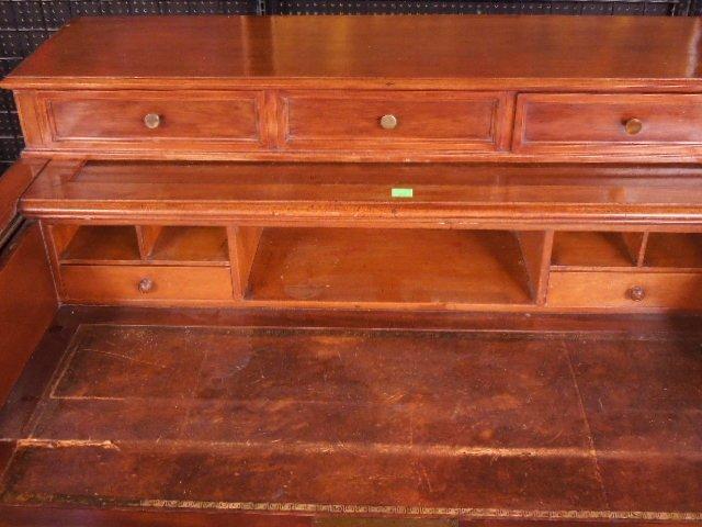 Victorian Walnut Clerk's Desk - 3