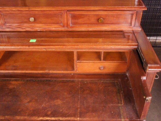 Victorian Walnut Clerk's Desk - 4
