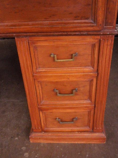 Victorian Walnut Clerk's Desk - 7