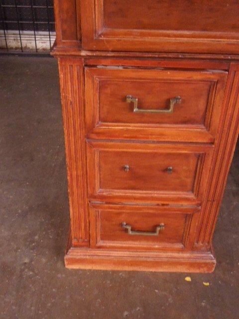 Victorian Walnut Clerk's Desk - 8