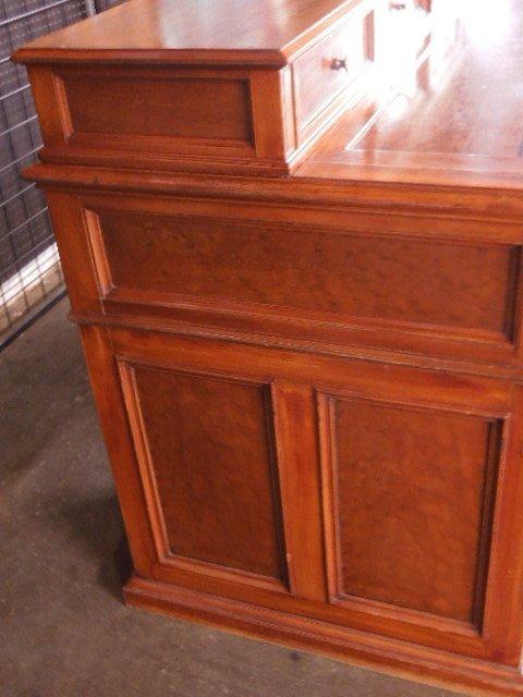 Victorian Walnut Clerk's Desk - 9