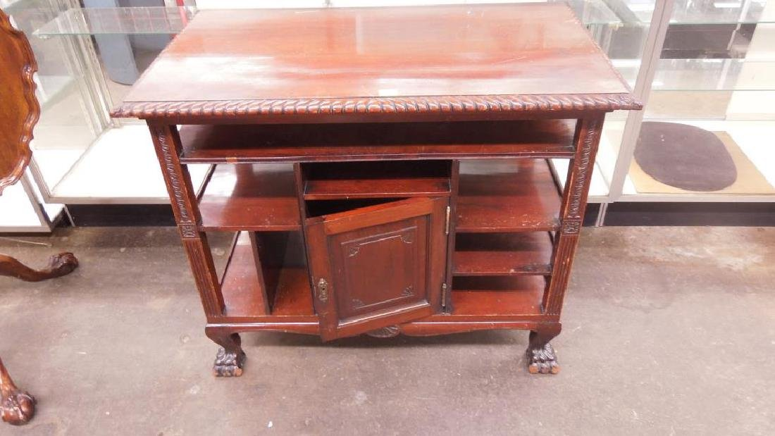 Chippendale Style Mahogany Server