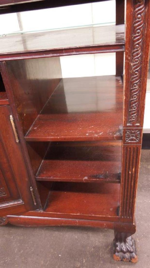 Chippendale Style Mahogany Server - 3