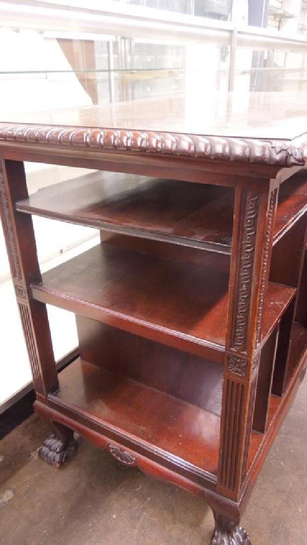 Chippendale Style Mahogany Server - 6