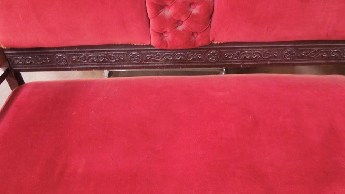 Eastlake Victorian Walnut Parlor Suite - 6