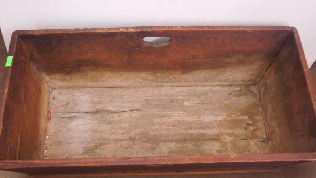 Primitive Pine Dough Box - 2