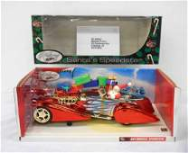 Holiday Hot Wheels Santas Speedster