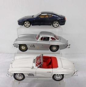 Bburago Mercedes Benz & Ferrari Cars