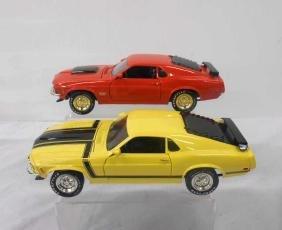 Ertl 1970 Mustang Boss Cars