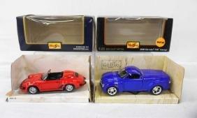 Maisto Porsche 911 & Chevy Concept Cars