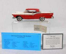 Franklin Mint 1957 Ford Fairlane 500