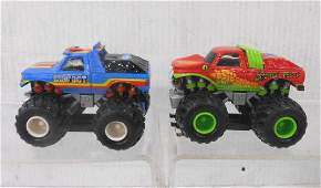 Marchon Bigfoot & Snake Bite Slot Cars