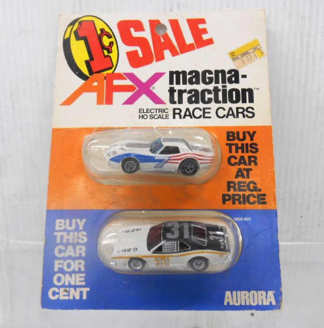 Rare AFX Aurora Promotional Slot Car Twin Pack
