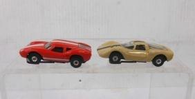 Aurora Thunderjet Lola GT & Ferrari Slot Cars