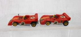 Aurora AFX Ferrari Can Am G-Plus Slot Cars