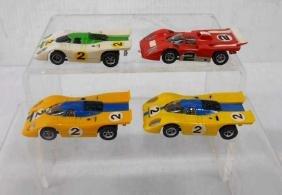 Aurora AFX Ferrari 512 Slot Cars