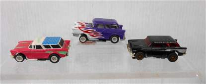 Tyco Aurora AFX 1957 Chevy Nomad Slot Cars